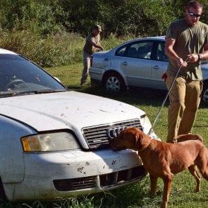 Drug Dog Handler