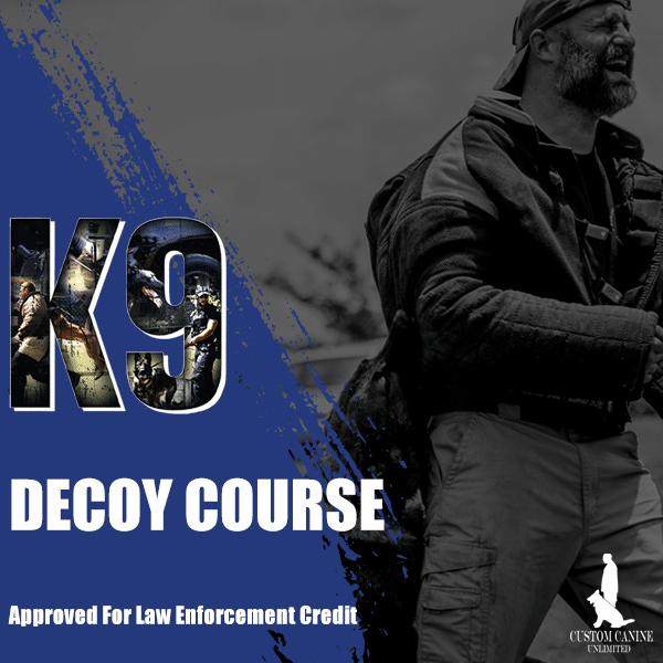 Police K9 Decoy Course