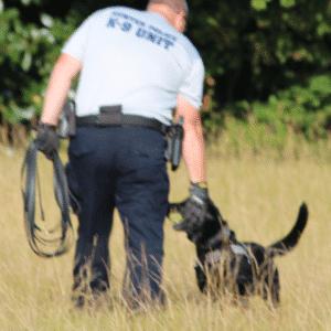 Drug and Tracking Dog Handler